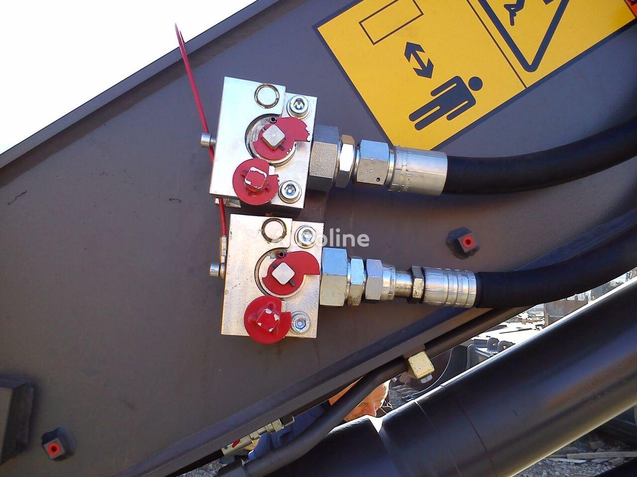 neuer Balavto coupler B-Quick for hydraulic hoses Schnellwechsler