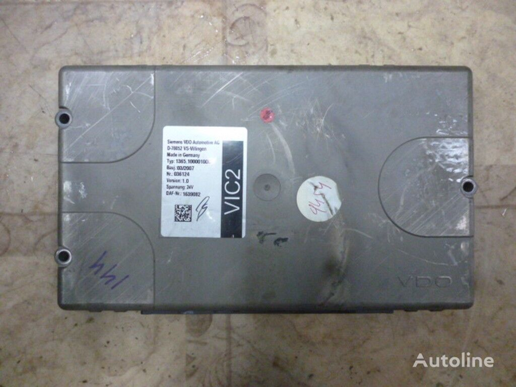 Blok elektronnyy XF 105 Steuereinheit für LKW