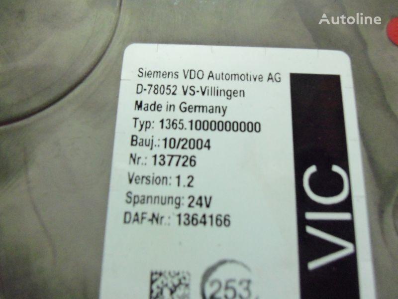DAF 95XF Euro3 electronic unit, VIC1, 1364166 Steuereinheit für DAF 95XF Sattelzugmaschine