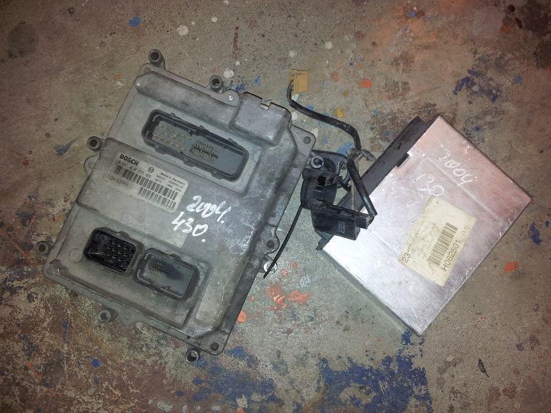 MAN TGA EURO3, 430PS ignition set, EDC, ECU, BOSCH 0281010255 + FFR 81258057042, 51258037126, 51258337169 Steuereinheit für MAN TGA Sattelzugmaschine