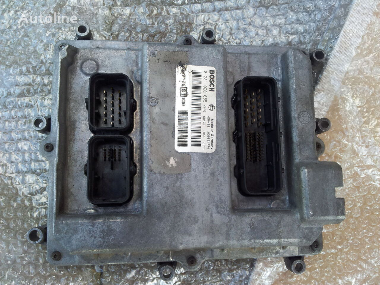 MAN Common Rail EDC, ECU electronic diesel control 0281020055, D2066LF01, 51258037126, 51258337169, 51258037127, 51258337168 Steuereinheit für MAN TGA Sattelzugmaschine