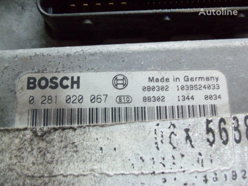 MAN TGA, TGX, engine computer EDC 480PS D2676LF05 ECU BOSH 0281020067 EURO4, 51258037544, 51258037563, 51258037834, 51258037674, 51258337008, 0281020067 Steuereinheit für MAN TGX Sattelzugmaschine