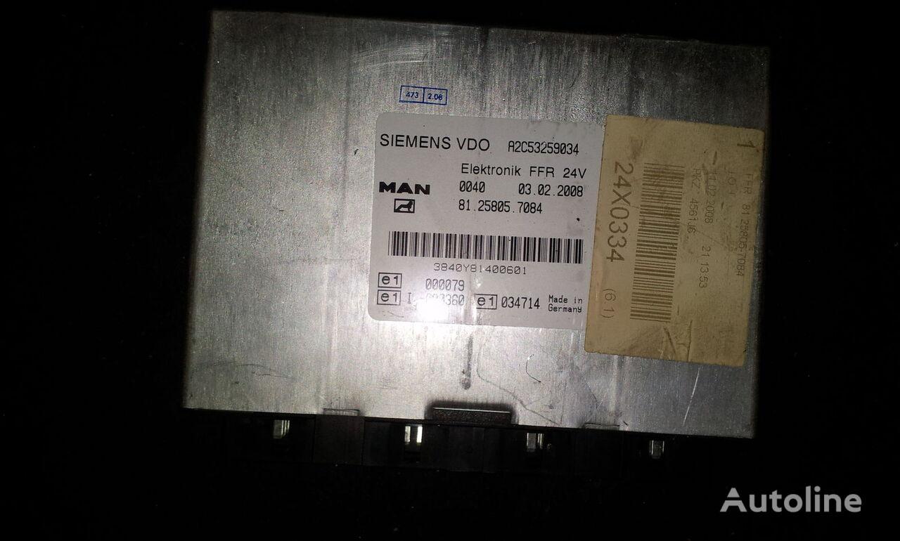 MAN FFR control unit, ECU, 81258057084, Siemens VDO, 81258057084, 81258057088, 81258057081, 81258057082, 81258057083, 81258057084, 81258057087, 81258057089, 81258057088 Steuereinheit für MAN TGX Sattelzugmaschine