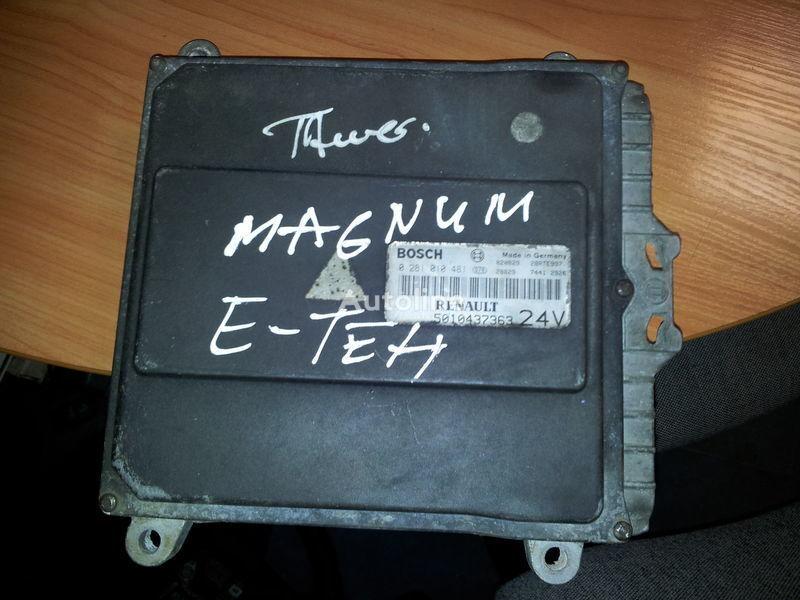 RENAULT engine computer EDC, ECU, 5010437363, BOSCH 0281010481 Steuereinheit für RENAULT Magnum E-TECH  Sattelzugmaschine