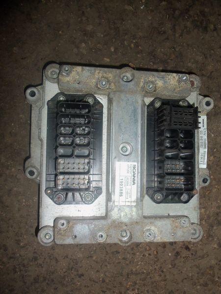 Scania R series engine computer, ECU, EDC, type DT1206, 1903886, 2061752, 2323675 Steuereinheit für SCANIA R Sattelzugmaschine