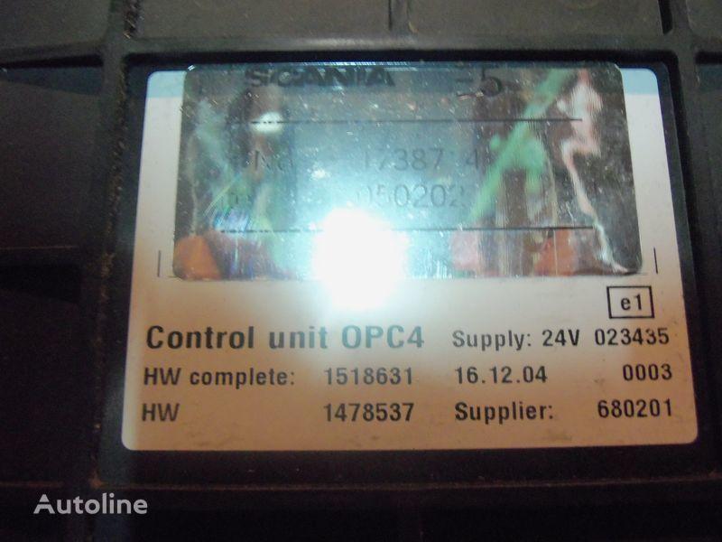 Scania R series OPC4 Control unit 1731140, 1750167, 17514664, 1754669, 1754674, 1754679, 1754684, 1754689, 1754694, 1754699, 1754704, 1754709, 1754714, 1754719, 1754728, 1754733, 1754738, 1918182, 1928717, 1933486, 1933264, 1936924, 2095496, 2149043 Steuereinheit für SCANIA R series Sattelzugmaschine