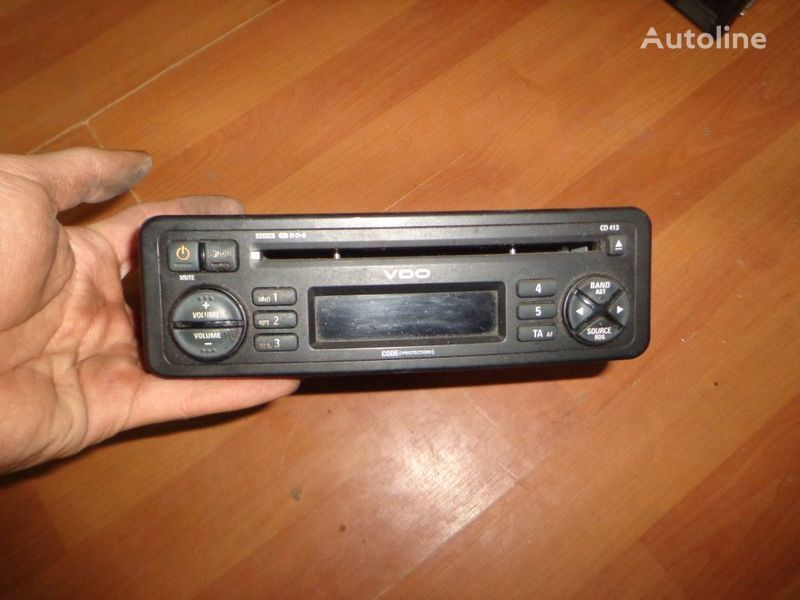 VDO CD413. 12V. CD. autoradio für LKW
