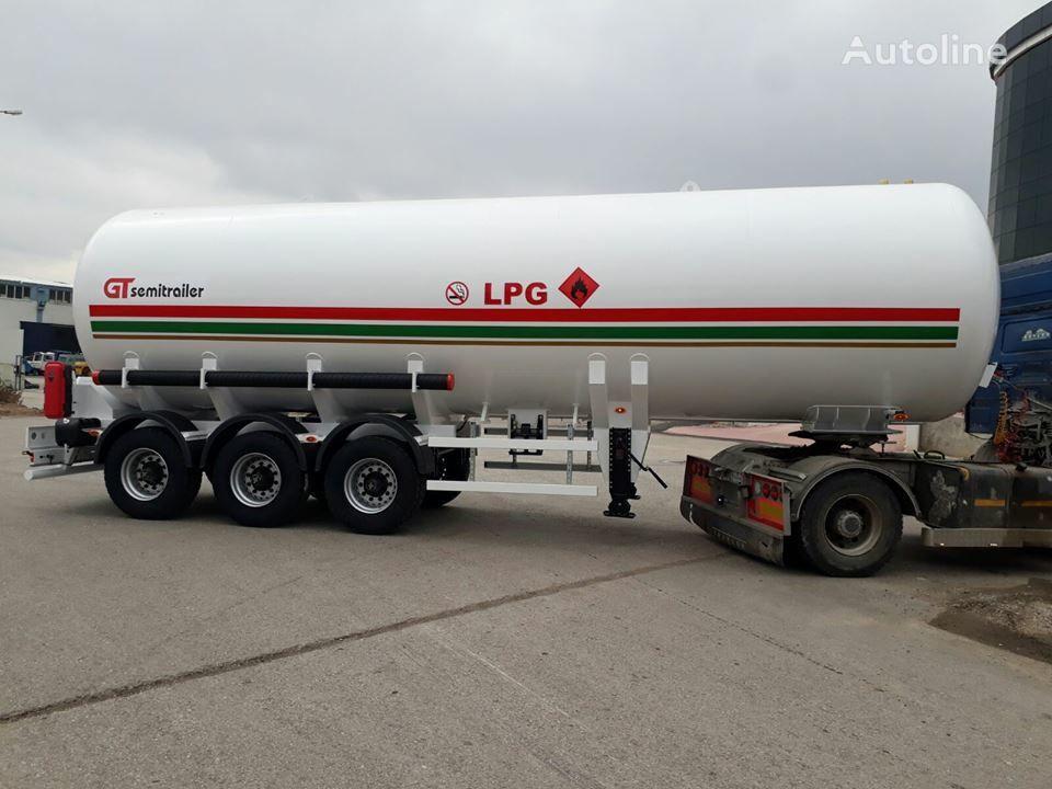 neuer GURLESENYIL 3 axles lpg semi trailers  Gastank
