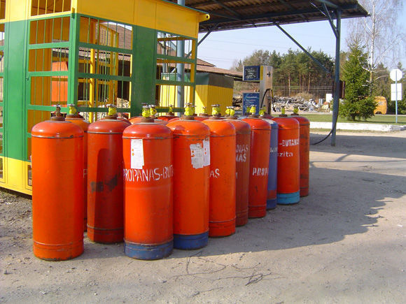 ZBA LPG cylinders PROPAN BUTAN Gastank