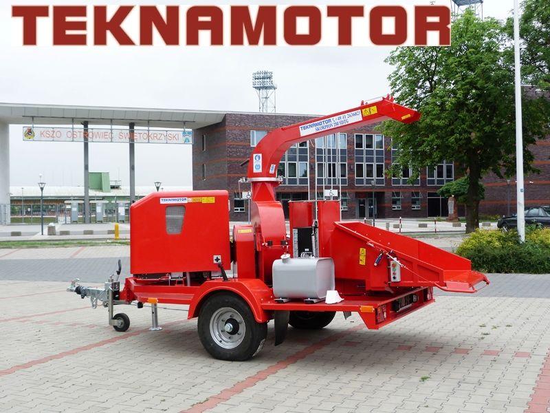 neuer TEKNAMOTOR Skorpion 250 SDT/G Holzhäcksler