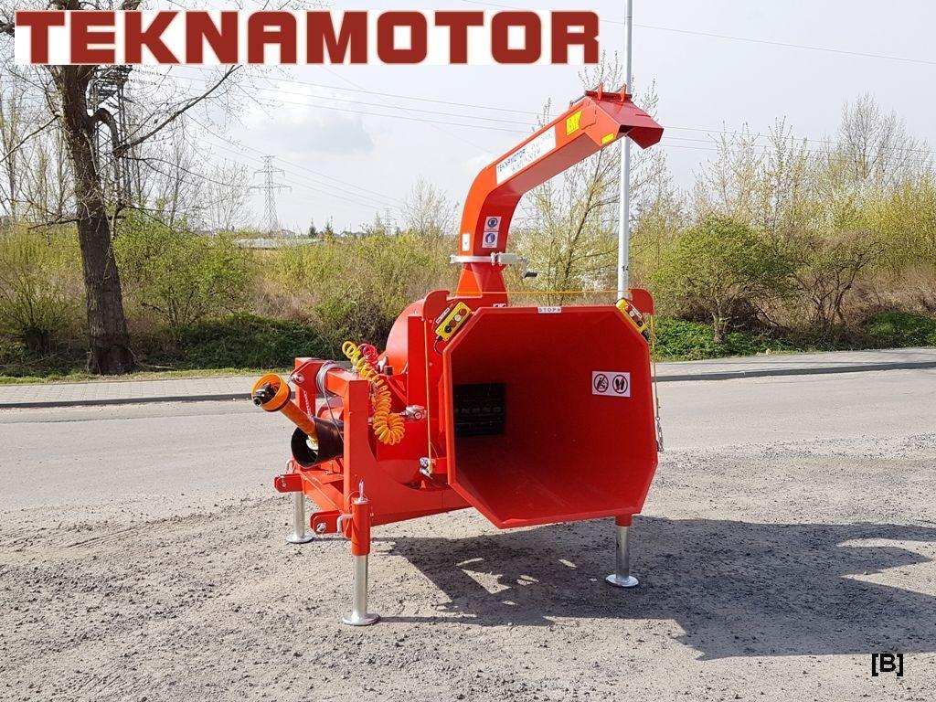 neuer TEKNAMOTOR Skorpion 250R/90 Holzhäcksler