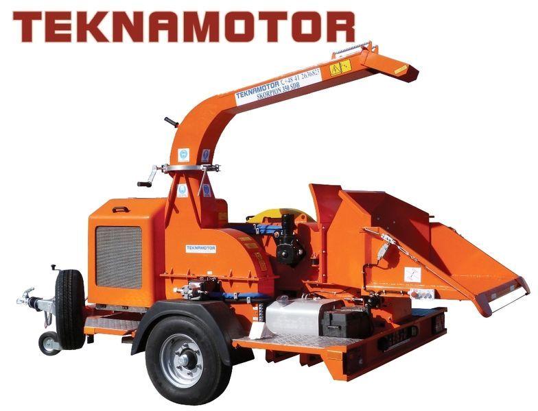neuer TEKNAMOTOR Skorpion 350 SDB Holzhäcksler