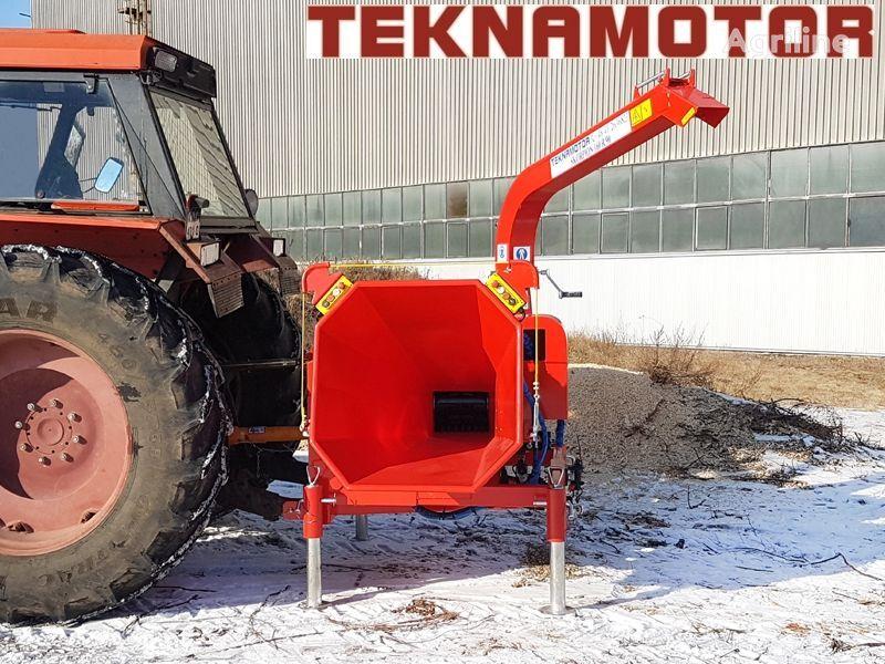 neuer TEKNAMOTOR Skorpon 160 R/90 Holzhäcksler