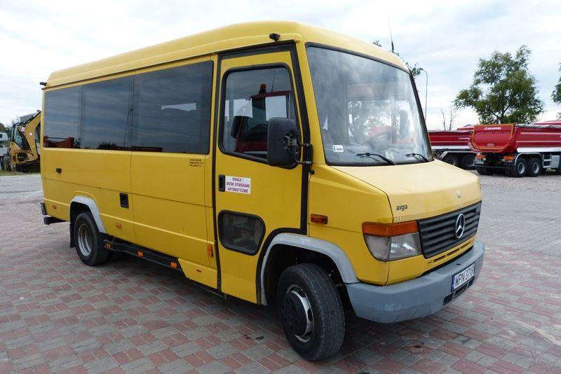 verkauf von mercedes benz 612 d kleinbusse personentransporter aus polen kleinbus kaufen el11086. Black Bedroom Furniture Sets. Home Design Ideas