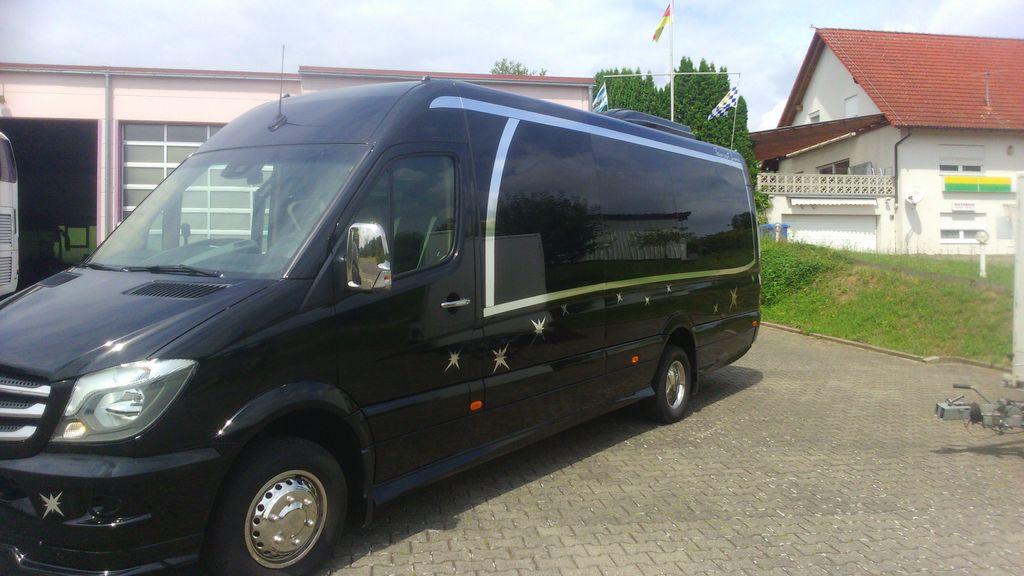 neuer MERCEDES-BENZ Sprinter 519CDI ,Neu, XXXL-Verlängerung, 24 Schlafsessel,Komfort Kleinbus