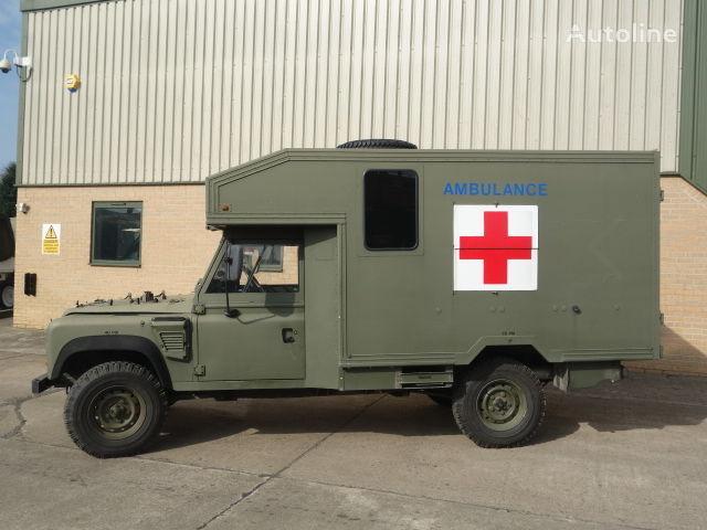 verkauf von defender wolf 130 rettungswagen krankenwagen. Black Bedroom Furniture Sets. Home Design Ideas