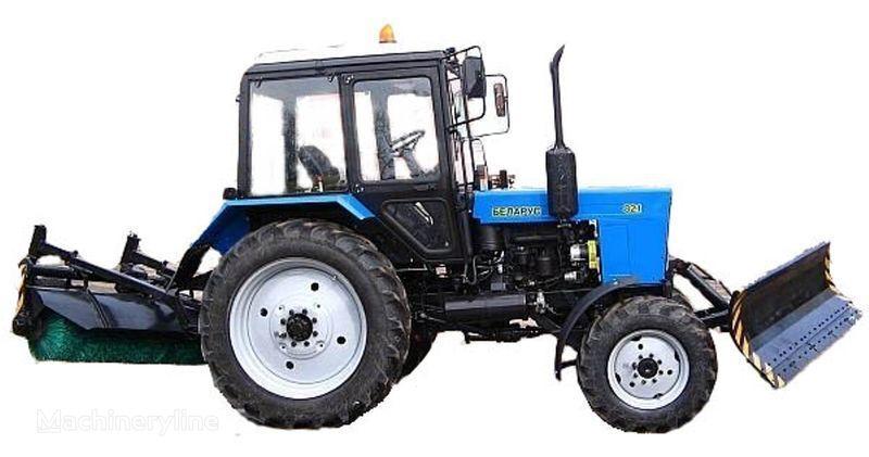 MTZ BAM-2 (otval+shchetka)na traktorah MTZ Andere Kommunalfahrzeuge