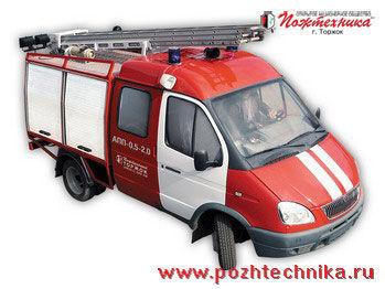 GAZ APP-0,5-2,0 Avtomobil pervoy pomoshchi     Feuerwehrauto