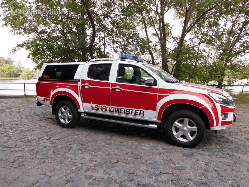 ISUZU D-MAX Löschfahrzeug, Einsatzleitfahrzeug, Vorausfahrzeug Feuerwehrauto
