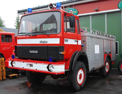 IVECO 4x4 WD Feuerwehrauto