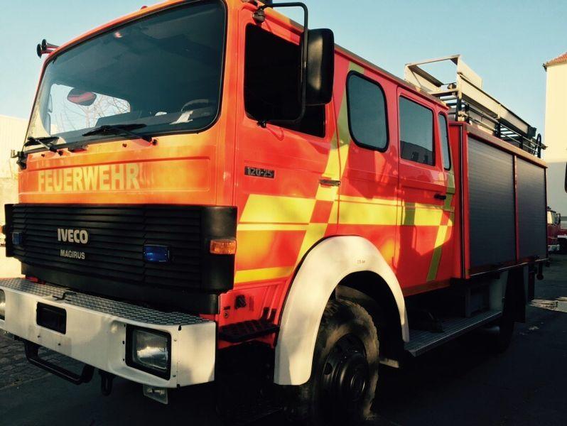 IVECO HLF Typ 120-25 4x4 Feuerwehrauto