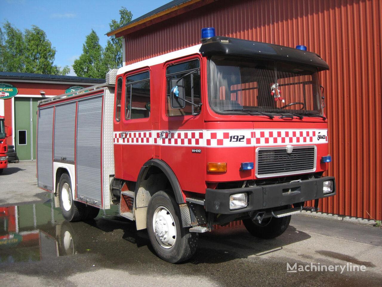 MAN 14-192, 4x4 WD Feuerwehrauto
