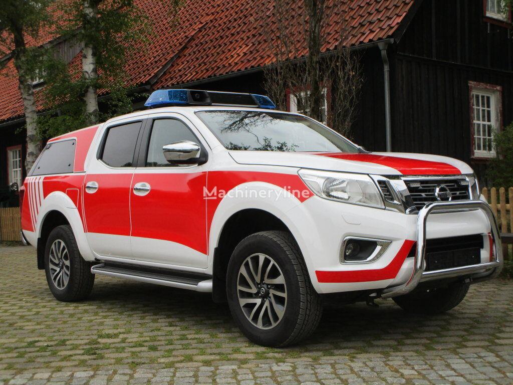 Nissan Navara N-Connecta Feuerwehrauto