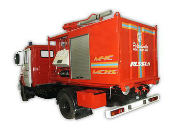 ZIL PSK Pozharno-spasatelnyy kompleks s konteynerami tyazhelogo tipa Feuerwehrauto