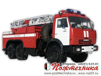 KAMAZ ACL-3-40/17    Feuerwehrleiter