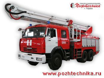 KAMAZ ACPK-2,0-40/100-24     Feuerwehrleiter