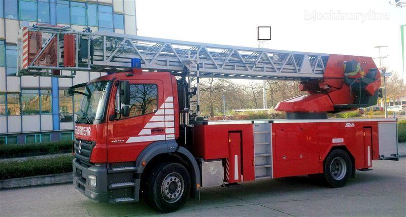 MERCEDES-BENZ F20127 - Metz L39 - Fire truck - turntable ladder Feuerwehrleiter