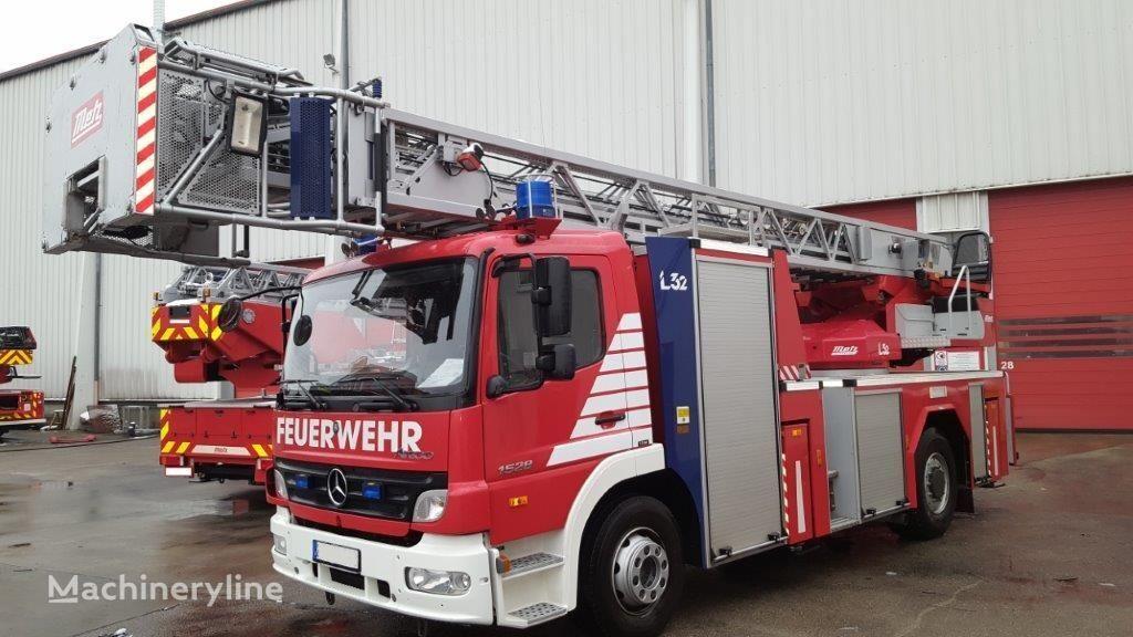 MERCEDES-BENZ F20136 Metz DLK 23-12 CAN-I L32 - Fire truck - Turntable ladder Feuerwehrleiter