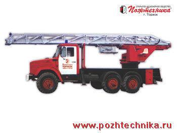 ZIL AL-30 Feuerwehrleiter