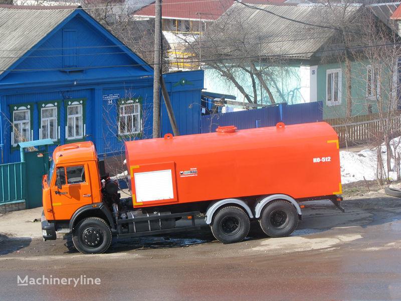 KAMAZ Kanalopromyvochnaya mashina KO-512 Kanalspülfahrzeug