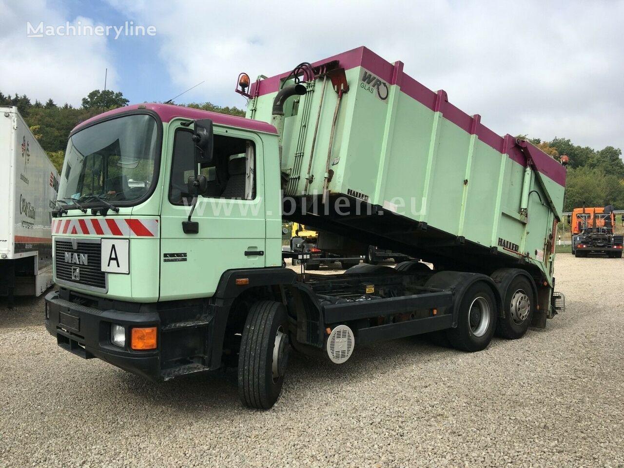MAN 26.342  6x2 Haller M 18 WRG Kippbar Müllwagen