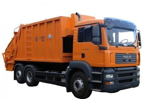 MAN KO-427-46  Müllwagen