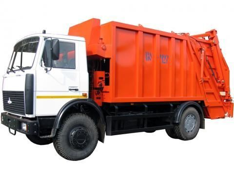 MAZ KO-427-34  Müllwagen