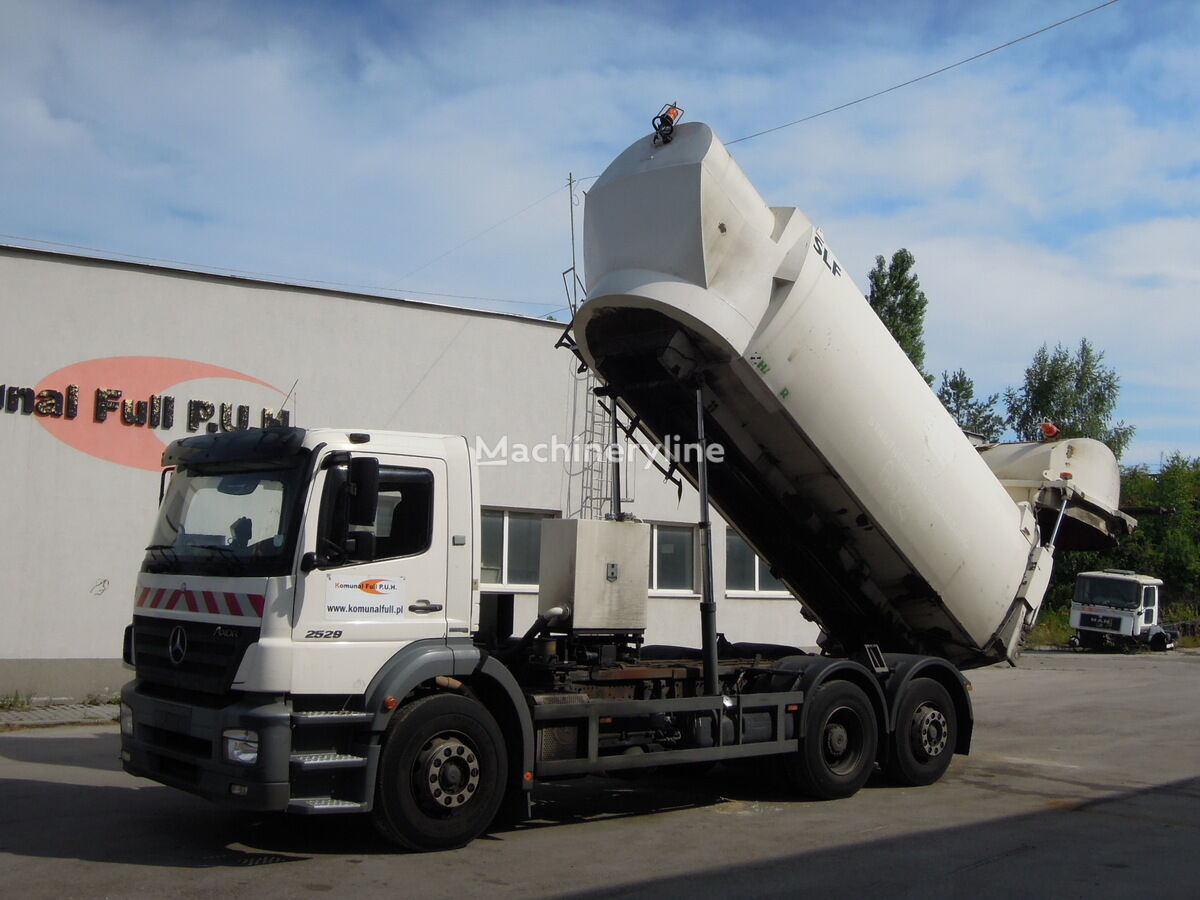 MERCEDES-BENZ Axor 2529 śmieciara podwozie wywrotka do zboża  166.000km Müllwagen