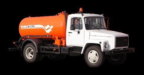 GAZ Vakuumnaya mashina KO-503V-2 Saugwagen