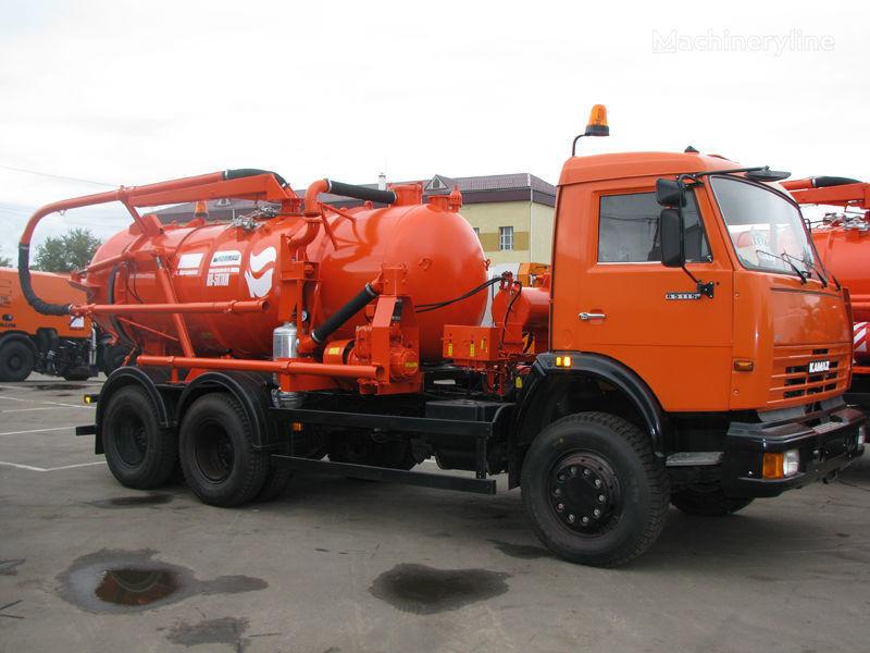 KAMAZ Ilososnaya mashina KO-507A-3 Saugwagen