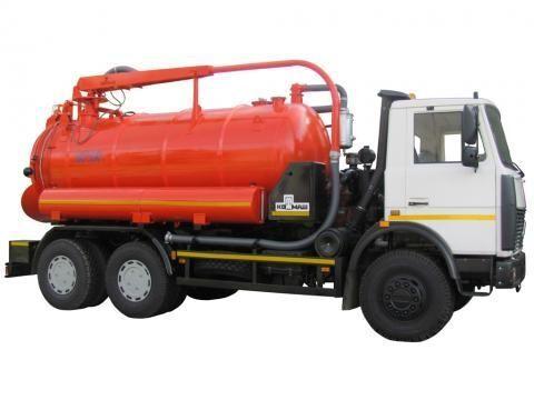 MAZ KO-530-05  Saugwagen