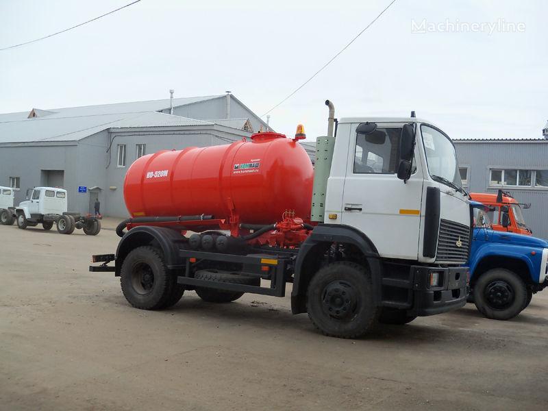 MAZ Vakuumnaya mashina KO-520M Saugwagen