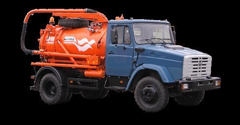 ZIL Ilososnaya mashina KO-510D Saugwagen