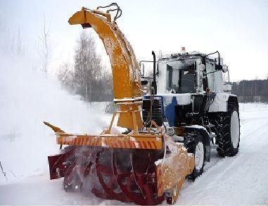 neue MTZ OFR- 200  Schneefräse