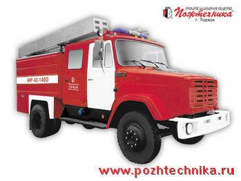 ZIL ANR-40-1400 Avtomobil nasosno-rukavnyy   Tanklöschfahrzeug