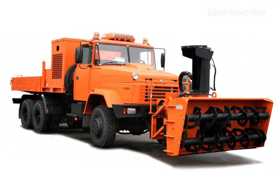 neues KRAZ 6511S4 Mehrzweck-Kommunalfahrzeug