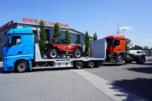 MERCEDES-BENZ Actros 2542 , E6 , MEGA , NEW BODY , car tow 10T , hydraulic ram Abschleppwagen