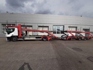 IVECO Stralis  Autotransporter + Autotransportanhänger