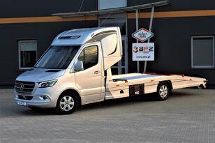 neuer MERCEDES-BENZ Mercedes-Benz Sprinter 319 V6 LUFTFEDERUNG AB WERK Schlafkabine  Autotransporter
