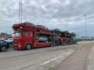 SCANIA 580 V8 KTT Metago/Supertrans 10-Autos Euro6 Autotransporter + Autotransportanhänger
